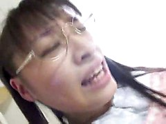 Spreading Her Creampied Cunt