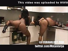 Cubana Lust Shaking Ass With Stripper