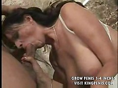 Hairy Milf Gets Banged All Over