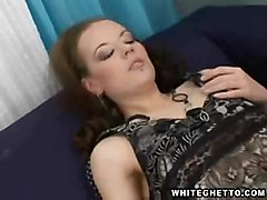 Beautiful Brunette Fucks The Technician   My Hairy Cream Pie