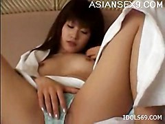Anna Myashita Hot Asian Slut Is Rubbing Her Hot Hairy Pussy