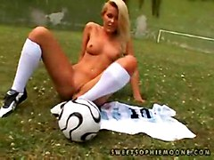 Sophie Moone   Sexy Soccer