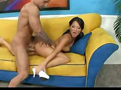 Asian Hot Asa Akira Likes It Doggystyle