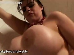 Horny Milf Gets Fucked In Shower