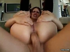 Selena Silver Gets Her Ass Fucked And Creamed
